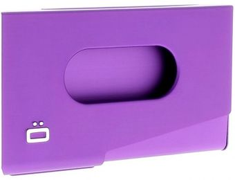 Ogon Porte-Cartes de Visite ONE TOUCH Purple