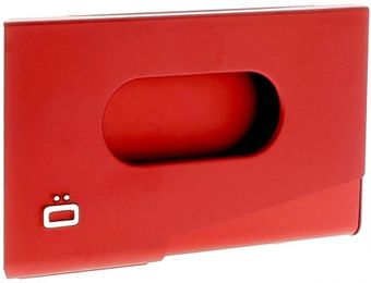 Ogon Porte-Cartes de Visite ONE TOUCH Red