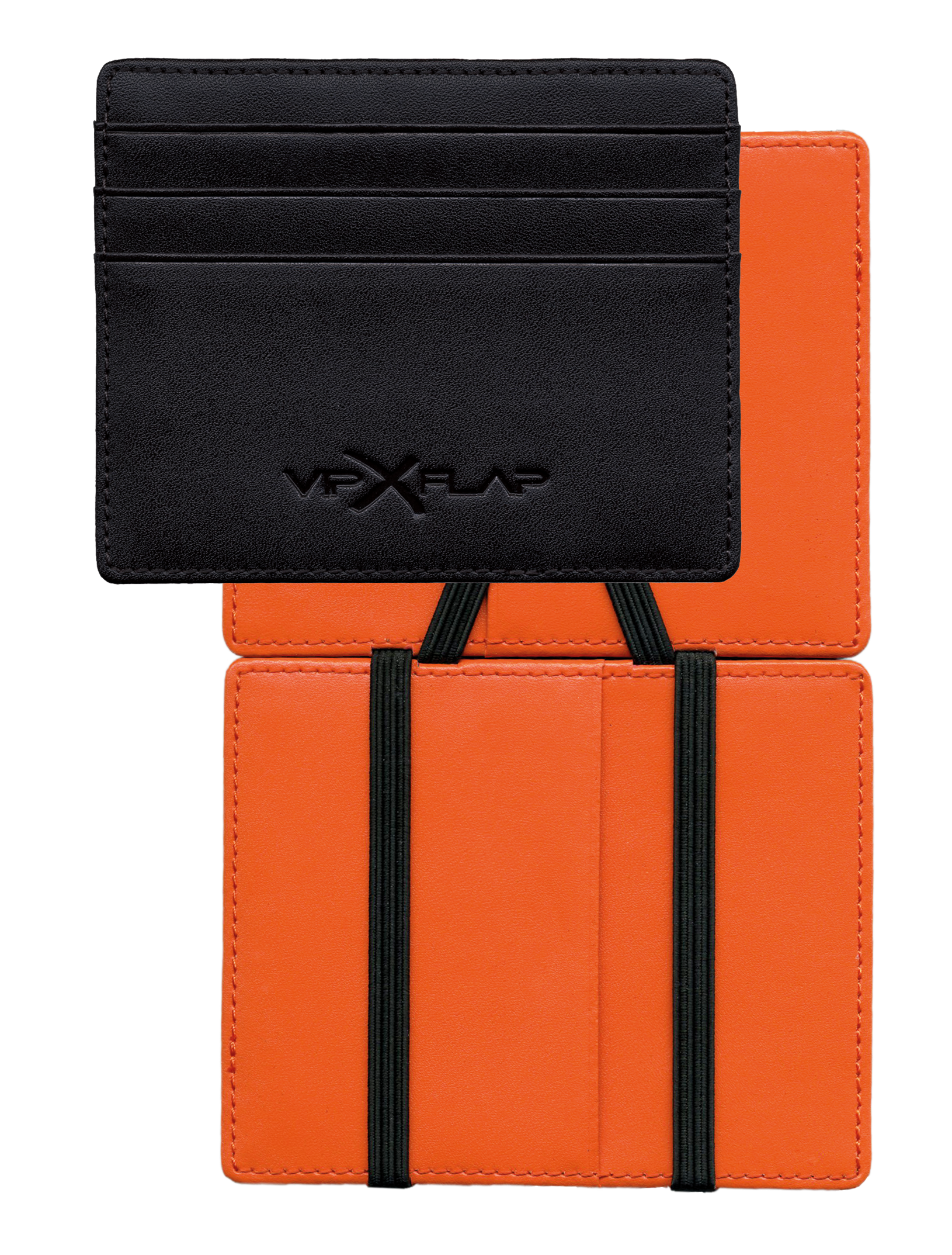 Vip Flap DM Noir Orange